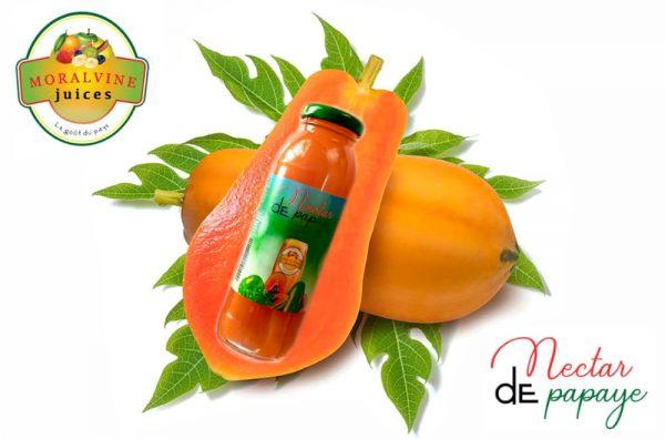 Jus de papaye et menthe