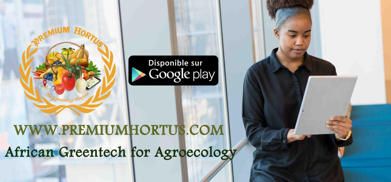Leader technologique de l'Agriculture Durable au Bénin et en Afrique, PREMIUM HORTUS disponible sous forme variée de site web,mobile App,blockchain et produits BIO